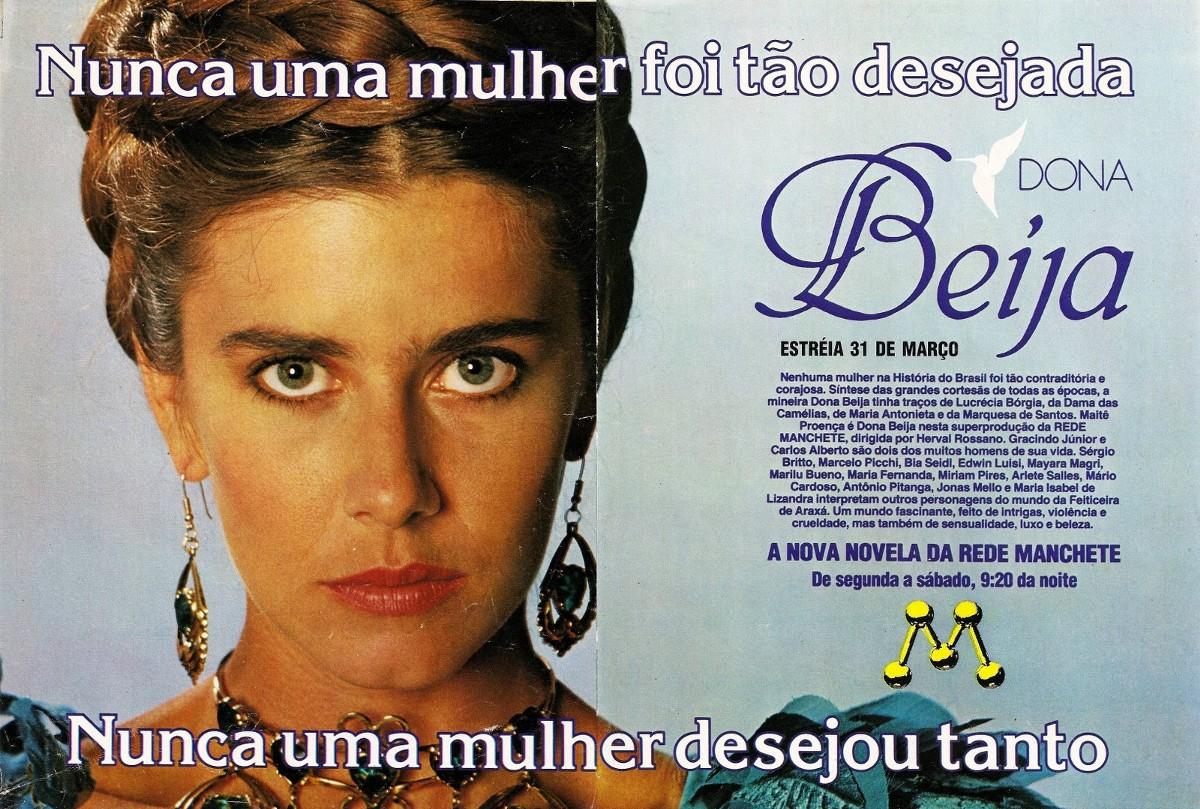 Anúncio provocador de Dona Beija