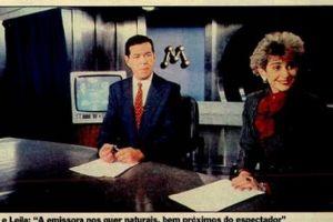 Leila Cordeiro e Eliakim Araujo, e o auge do Jornal da Manchete